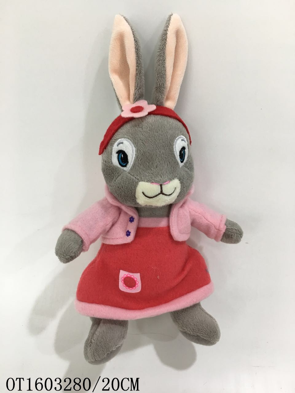 cheap lifelike custom easter long ear stuffed bunnies for babies