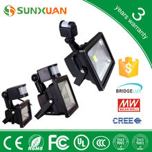china alibaba 20w warm white PIR Sensor led flood light