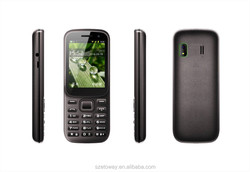 low price best selling 1000mah 3G feature phone 2.4 inch WCDMA mobile phone