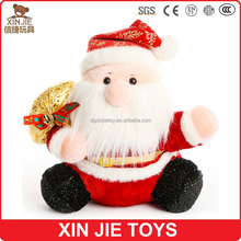customize santa claus plush toy supply soft santa claus toy cheapest santa claus stuffed toy