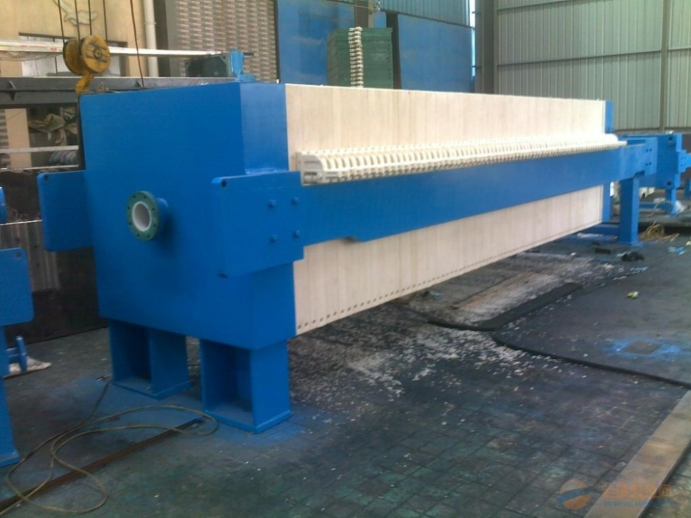 Sludge dewatering machine copper sludge industrial filter