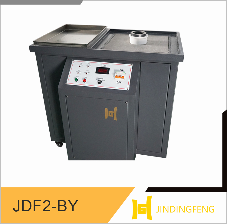 speedy smelting and low loss gold melting induction furnace machine