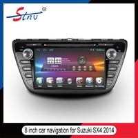 Android 4.4 In Car Video Player For SX4 2014 With IPOD/Radio/Bluetooth