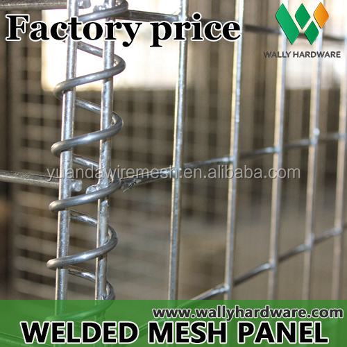 Welded Mesh Galvanized Wire Mesh Gabion/Hesco Barrier Gabion Box prices /Gabion Mesh