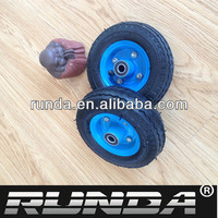 small pneumatic wheels castor wheel 6x2