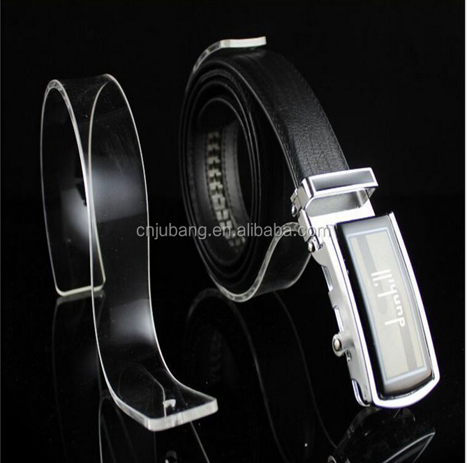 Good design acrylic belt display stand / leather belt display stand