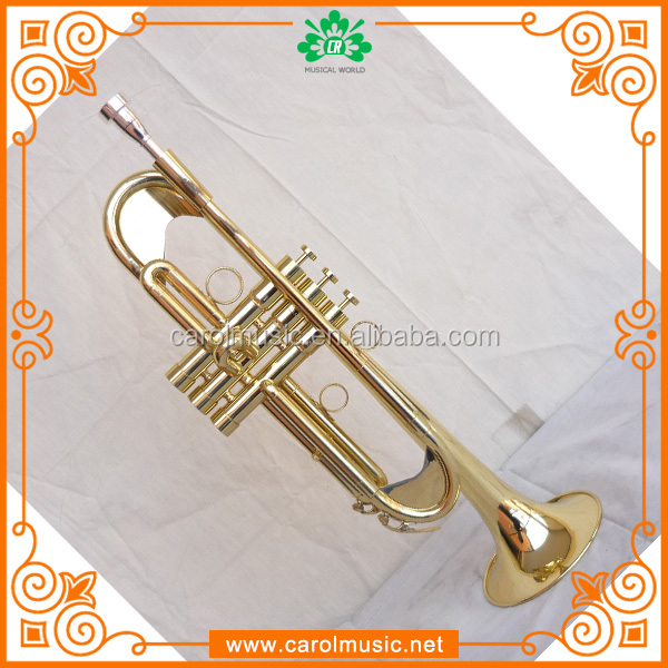 Popular brass wind instruments trumpet