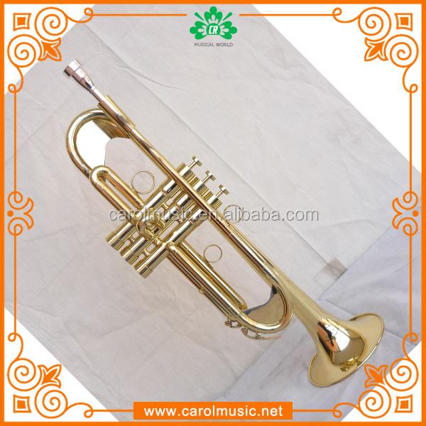 Popular brass wind instruments trumpet