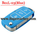 B01L-03 3 Button Remote Key with Blue colour for URG200/KD900/KD200