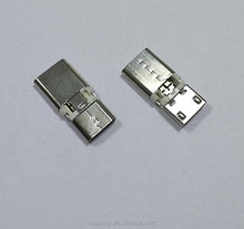 USB connector MICRO mother to TYPE-C public adapter