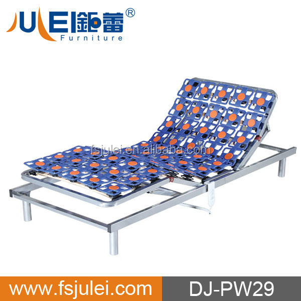 Plastic flower adjustable bed