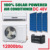 good price split wall money saving DC 48V off grid solar powered room air conditioner price