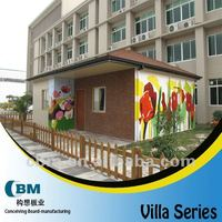 Durable Bolt Connection prefabricated Dwelling House