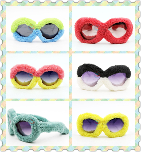 No.1 yiwu exporting commission agent wanted plush sunglasses for party