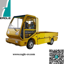 Electric Utility Truck, 2000kgs Loading Weight, Closed Cab