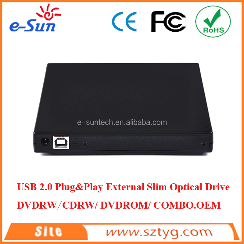 External Slim Optical Drive DVDRW/CDRW/DVDROM/COMBO mini laptop with dvd drive/dvd burner portable dvd player