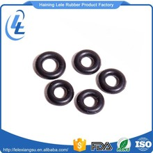 Wholesale custom made cheap price anti aging black viton 5mm o-ring rubber