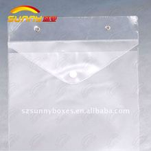 Transparent envelope with dividers and Indexes