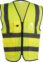YOYO-218 Yellow Safety Vest