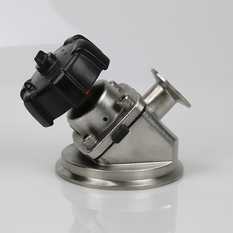 Top quality manual clamped tank bottom diaphragm valve for food grade