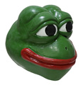 Pepe The Frog Latex Mask 4chan kekistan hallowen Meme costume cosplay comic frog mask