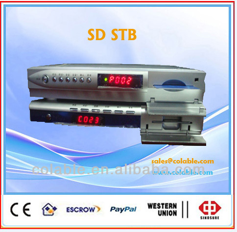 MPEG-2 dvb-s/digital satellite receiver, Supports Service List Editing