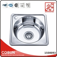Single Stainless Steel Used Kitchen Sinks Drop in