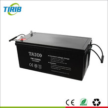 AGM Rechargeable Deep Cycle 12V 200Ah Solar GEL Battery For Inverter