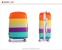customize abs pc antique suitcases travel one