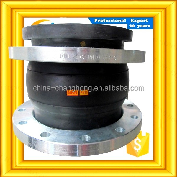China supplier Pipe Fitting Bellows expansion rubber joint
