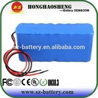 High capacity 12v 25ah li-ion battery 18650 rechargeable li battery pack