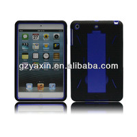 Robot kickstand design case for ipad mini with cheap price