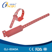 GJ-6040A Card Insert PVC Material Medical pocket wristband