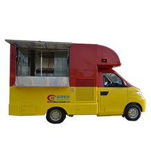 stainless steel mobile food truck ice cream cart hot dog mobile food car