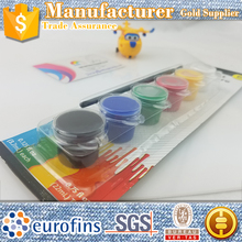 6 color lwatercolor,paper card,non-toxic,Factory Direct