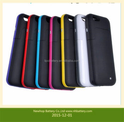 New design hot in china for iphone6/6s power case 5800mah