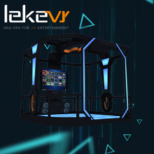 Hot Selling High Quality Leke VR Shooting Game Platform for indoor amusement park