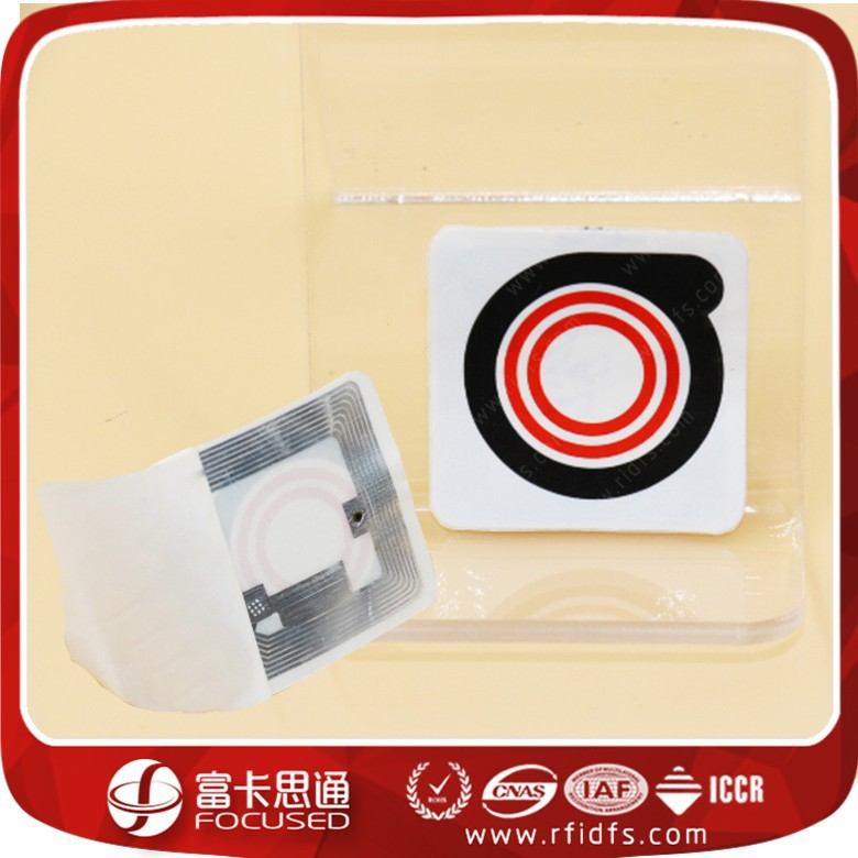 RFID fragile anti-fake security label sticker , Printable NFC Tags/Labels