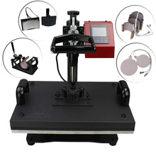 Factory Supply Best Price 8 in 1 combo heat press machine/ multifunctional