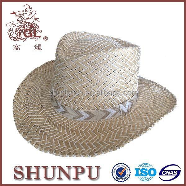 flat brimmed types of cowboy hats for sale cheap