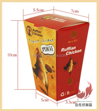 food grade paper board box of fried chicken box