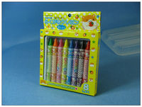 High Quality 8 Color Jumbo Oil Pastel Crayon Non-toxic In Color Box