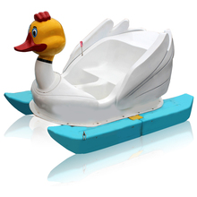 Foot Power Propeller Water Bikes duck pedal boat pedalo boat small paddle boat for kids