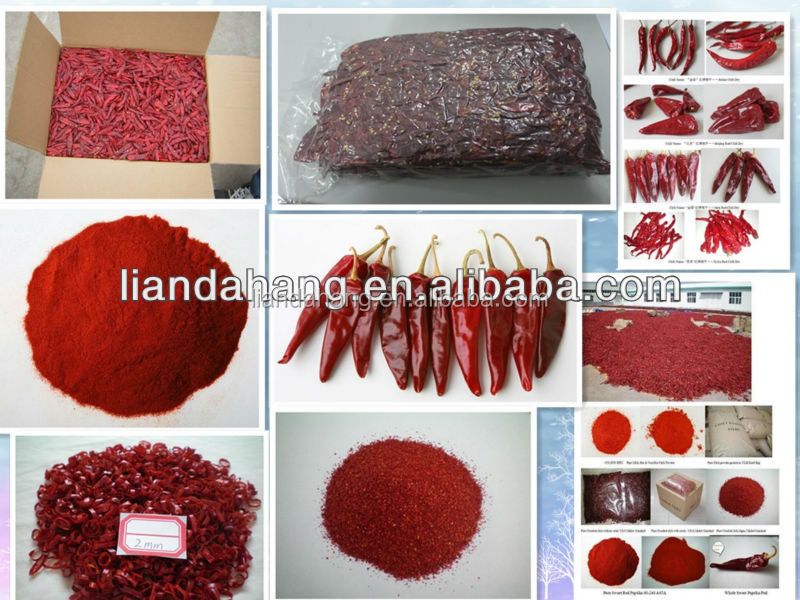 Certified HACCP/KOSHER/ HALAL Dried Spicy Red Yidu Chilli Powder