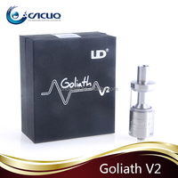2015 UD NEWest arrival Sub ohm tank Zephyrus tank with RBA head,top refilling 5ML,rebuildable Goliath RTA