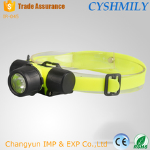 Outdoor strong light Q5 multi-function led plastic headlamp q5 led headlamp diving led waterproof headlamp