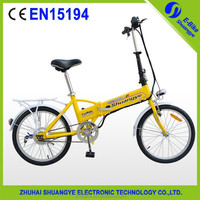 China new model Preferential 36V super pocket electric bike