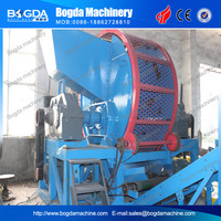 waste tyre recycling cutting machine