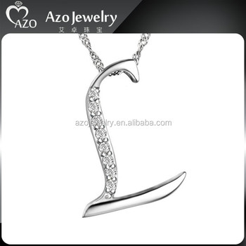 Charming 925 sterling silver letter pendant wholesale view letter charming 925 sterling silver letter pendant wholesale aloadofball Image collections