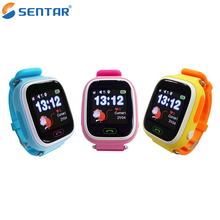 Smart Anti Lost SOS Call Location Finder Locator Tracker For Kid Child Children Old GPS Monitor Bracelet Gift Kids Smart Watch